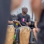 Afrikanisches Trommeln mit Thomas Eyison
