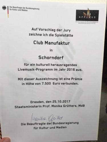 Applaus-Preis 2017